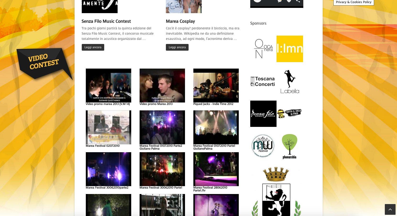 Homepage Marea Festival Fucecchio