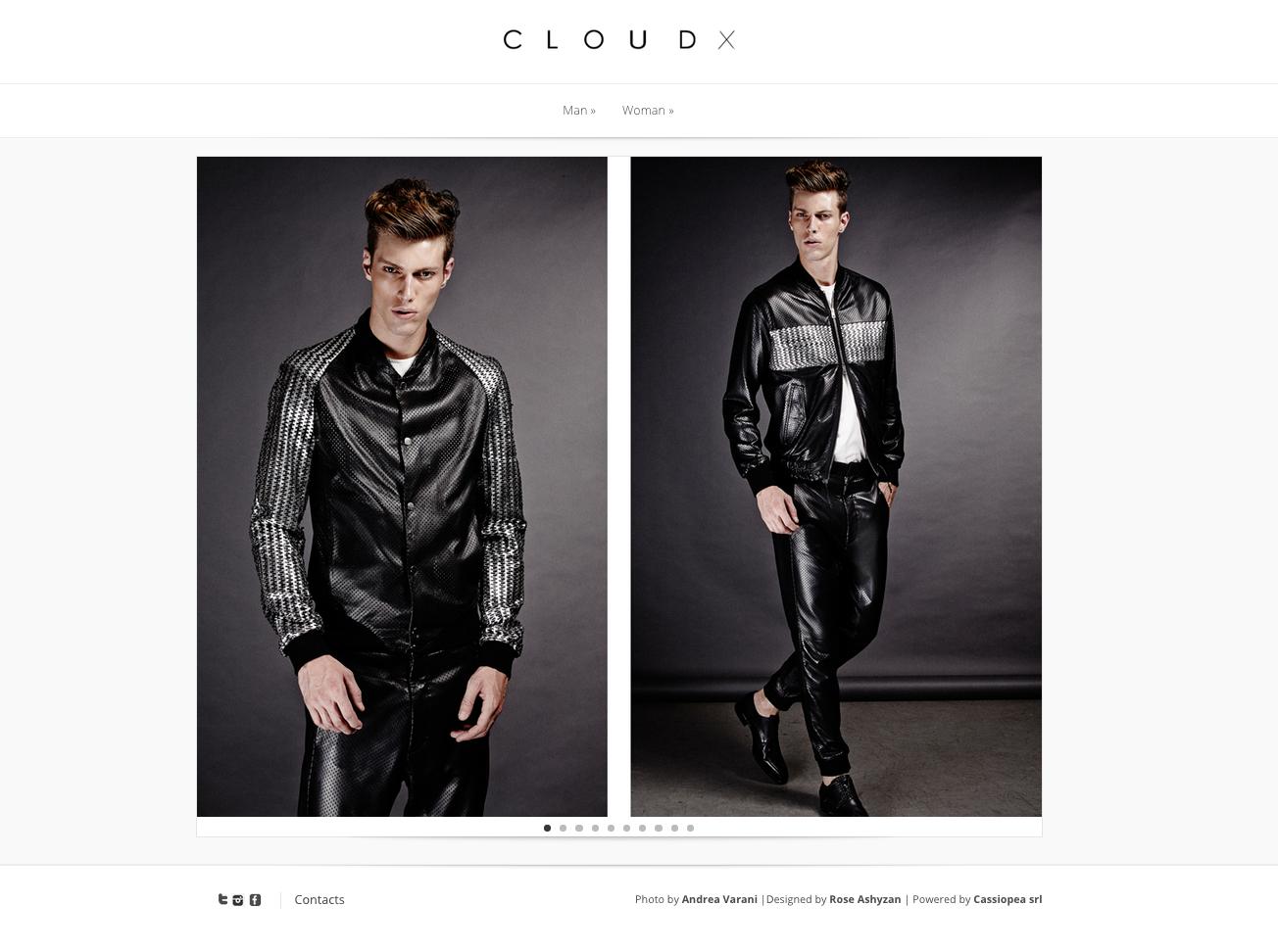 cloudx homepage