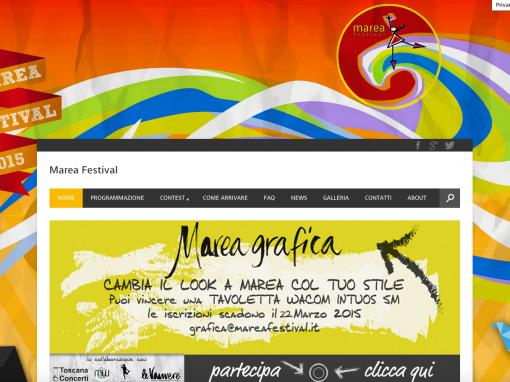 Marea Festival – Festival di Musica Website