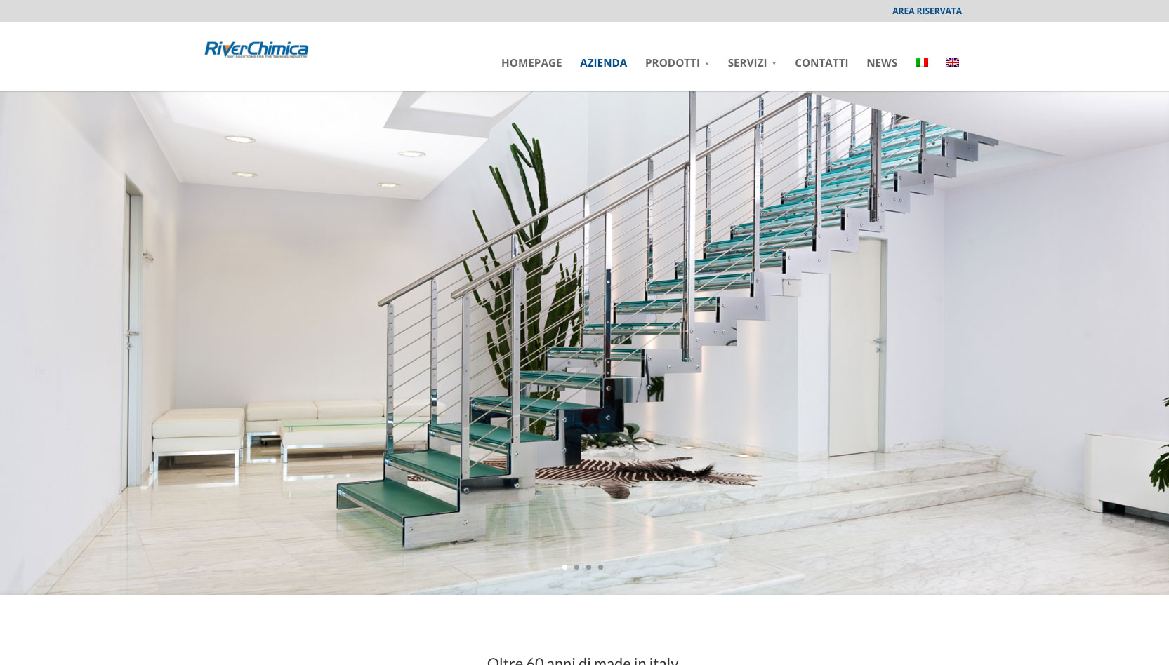 River Chimica Industriale spa - homepage