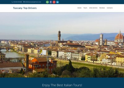 Tuscany Top Drivers – high level ground transportation service
