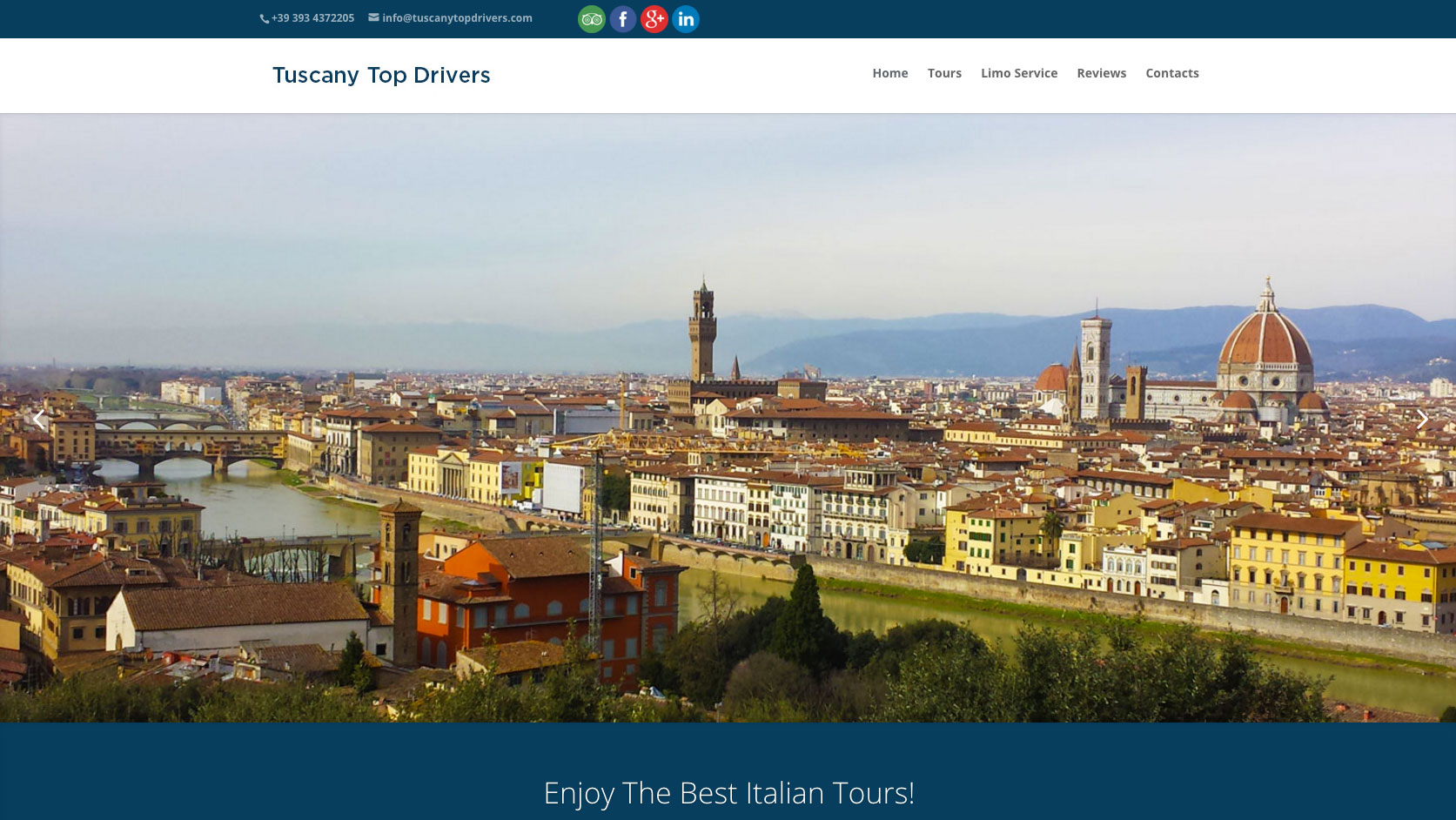 Tuscany Top Drivers Homepage
